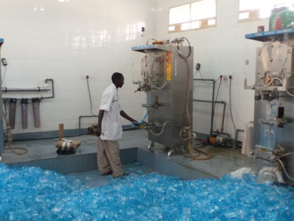 Sachet Water Production